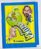 Unopened Packet Bustina Bag BRAZUKA  WORLD CUP 2014 FIFA BRAZIL Serbia Edition Pirlo - Stickers