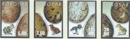Féroé YT 423-426 XX / MNH Oeuf Egg Oiseau Bird - Féroé (Iles)