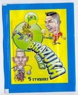 Unopened Packet Bustina Bag BRAZUKA  WORLD CUP 2014 FIFA BRAZIL Serbia Edition Ronaldo - Stickers