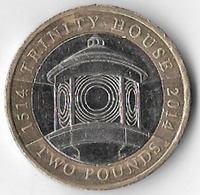United Kingdom 2014 £2 Trinity House [C809/2D] - 1971-… : Monete Decimali