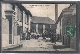 Carte Postale 78. Aulnay-sous-Mauldre  L'usine  Très  Beau Plan - Frankreich