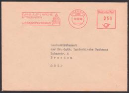 EISENACH AFS =DP 050= 1990, Evangelische- Lutherische Kirche In Thüringen Landeskirchenamt, Währungsunion - [6] República Democrática