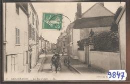 9847  BAR SUR AUBE LA RUE  D AUBE  1916 - Bar-sur-Seine