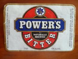 Ancienne étiquette Bière POWER'S Bitter - Bière
