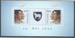 Féroé YT Bloc 18 XX / MNH Famille Royale - Faroe Islands