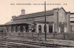 CPA,Bois Colombes, Gare Du Chemin De Fer Electrique - Asnieres Sur Seine