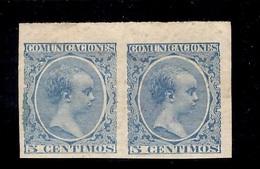 Espagne YT N° 198 En Paire Non Dentelés Neufs (*). TB. A Saisir! - 1889-1931 Kingdom: Alphonse XIII