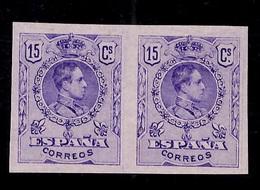 Espagne YT N° 245 En Paire Non Dentelés Neufs (*). TB. A Saisir! - 1889-1931 Kingdom: Alphonse XIII