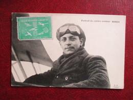 CPA AVIATION PORTRAIT DU CELEBRE AVIATEUR BOBBA TIMBRE CIRCUIT EUROPEEN AVIATION - Aviateurs