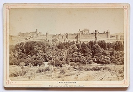 Neurdein,Carcassonne,Vue Générale De La Cité (Couchant) Photo Circa 1900 - Photos