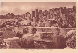 Baalbeck - Debris Du Temple De Jupiter - Siria