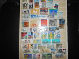 Collection , Europa 50 Timbres Obliteres - Briefmarken