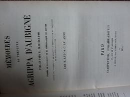 Mémoires De Théodore Agrippa D'Aubigné, 1854 - Livres, BD, Revues