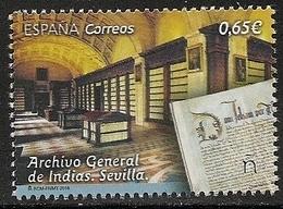 2018-ED. 5265 COMPLETA- Archivo General De Indias -NUEVO - 1931-Today: 2nd Rep - ... Juan Carlos I