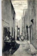 MAROC  TANGER   RUE DU QUARTIER ARABE - Tanger