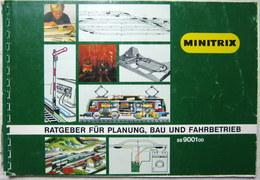 MINITRIX Gleisplan Gleispläne 56900100 Ratgeber Planung Bau 1980 Top Tipps - Gleise