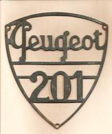 TRANSPORTS - PEUGEOT 201 - Sigle De Calandre - Cars
