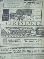 GALERIES BARBES-MARSEILLE-PUBLICITÉ ISSUE D'UN ANCIEN JOURNAL - Ex-libris