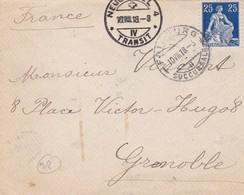 VIEUX ENVELOPPE CIRCULEE 1918 SUISEE TO FRANCE- BLEUP - Zwitserland