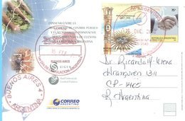 RED FEDERAL DE CONTROL PUBLICO 2006 ARGENTINA ENTERO POSTAL CIRCULATED -LILHU - Argentine