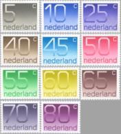 1976 Cijfers Crouwel NVPH 1108-1118 Postfris/MNH/** - Periode 1949-1980 (Juliana)