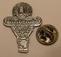 NINTENDO CLUB Argent MARIO BROS Pin Pin's Pins - Games