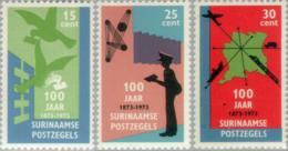Suriname 1973 100 Years Stamps - NVPH 613 MNH** Postfris - Suriname ... - 1975