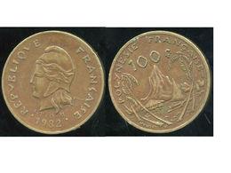 POLYNESIE Francaise 100 Francs 1982 - Polynésie Française