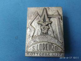 CAI 73° CONGRESSO San Lorenzo 1/10/1967 Sat - Italia