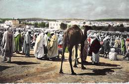 Afrique-Algérie- Scènes & Types  UN SOUK  (A) (Editions La Cigogne)  *PRIX FIXE - Scènes & Types