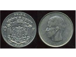 BELGIQUE  BELGIUM    ALBERT II   10  Francs  1998  ( Belgie ) - 02. 1 Franc