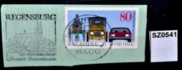 SZ0541 Mittelalterliches Wunder Deutschlands, Dom St. Peter, Regensburg DE 1986 - Machine Stamps (ATM)