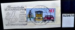 SZ0570 1000 Jahr Kunst Und Kultur, Universitätsstedt, 8600 Bamberg DE 1986 - [7] République Fédérale