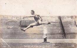 CPA-PHOTO Carte Photo Athlétisme Saut De Haies ANDRE à L' Entraînement - Athletics