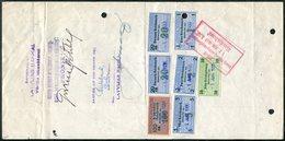 Germany-Latvia-USSR 1932 Riga Revenue Fiscal Tax Gebührenmarke Wechsel Bill Of Exchange Promissory Note Lettre De Change - Allemagne