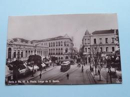 S. Paulo - Largo De S. BENTO Serie A N° 12 ( Guilherme Gaensly ) Anno 1911 > Eksaarde ( Zie / Voir Photo ) ! - São Paulo