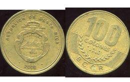 COSTA RICA 100 Colones 2000 - Costa Rica