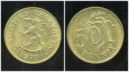FINLANDE 50 Pennia 1979 - Finlande