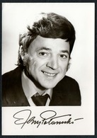 B9815 - Jerzy Poöomski- Autogrammkarte - Krajowa Agencja Wydawnicza - Autographes