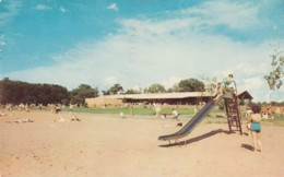 Huron-Clinton Area Michigan, Kensington Metropolitan Park Playground, C1960s Vintage Postcard - Clinton