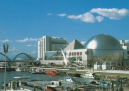 Nagoya Japan, Port Of Nagoya Aquarium, Architecture, C1990s Vintage Postcard - Nagoya