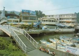 Toba Japan Aquarium, Architecture, Motorcycles C1990s Vintage Postcard - Other