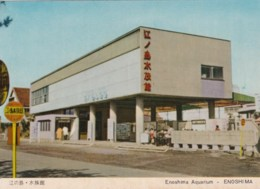 Enoshima Japan Aquarium, Architecture, C1960s Vintage Postcard - Other