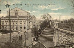 VERVIERS - Rue Des Artistes Et Escaliers Du Square - Verviers