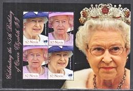 NEVIS 1663   **  QUEEN  ELIZABETH  II - Royalties, Royals