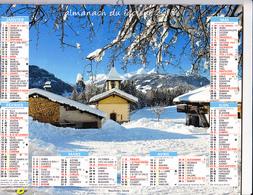 Almanach Du Facteur 2018, Beaufortain (Savoie) / Hameau De Charousse (Savoie) OBERTHUR - Grand Format : 2001-...