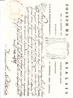 Ferentino, Certificato Di Buona Condotta Per Medico Chirurgo. Bel Documento Eccellente Conservazione Anno 1828 - Manoscritti