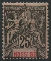 Nossi-Be (1894) N 34 * (charniere) - Nossi-Bé (1889-1901)