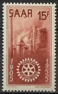 Sarre, N° 340** Y Et T - 1947-56 Occupation Alliée