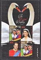 NEVIS 1672   **  ROYAL  WEDDING   PRINCE  WILLIAM - Royalties, Royals